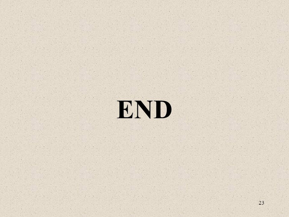 23 END