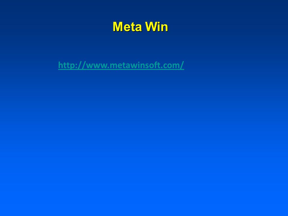 Meta Win http://www.metawinsoft.com/