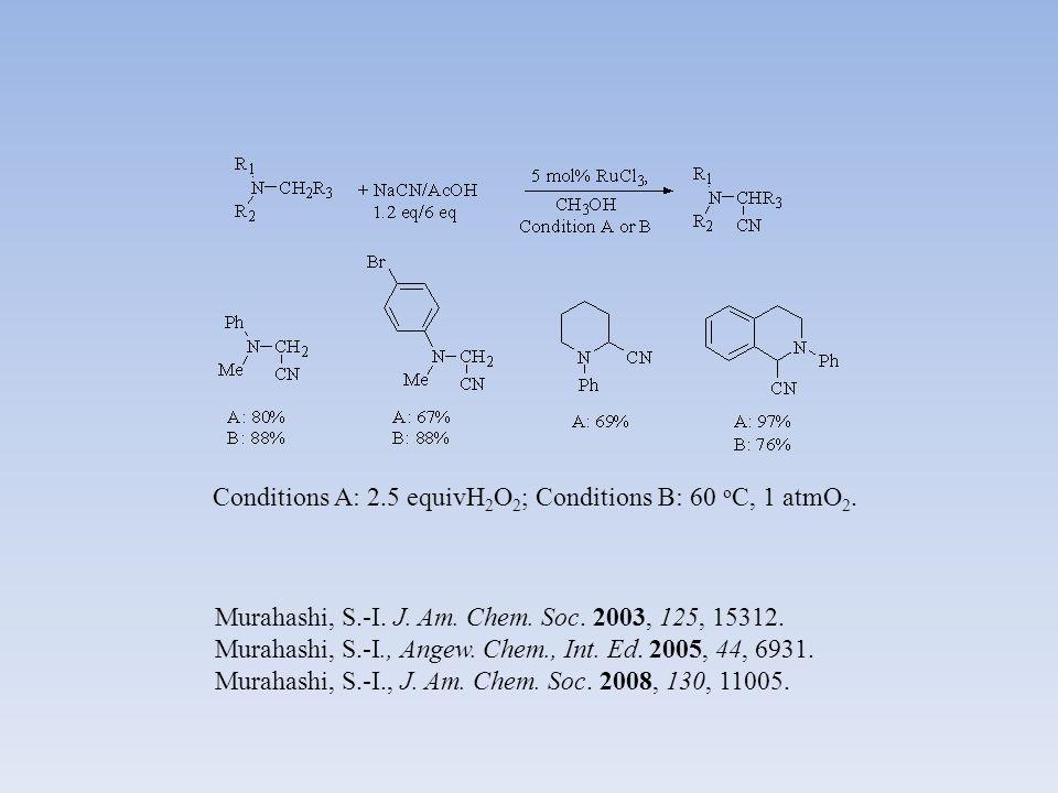Stephenson, C. R. J., J. Am. Chem. Soc. 2010, 132, 1464.