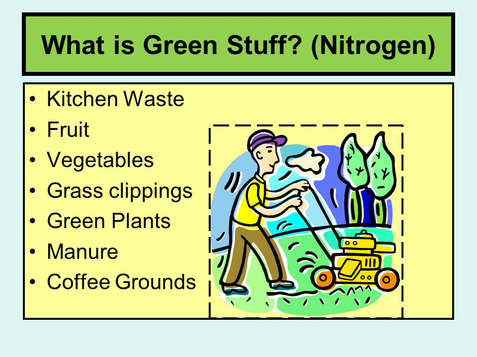What is Green Stuff.