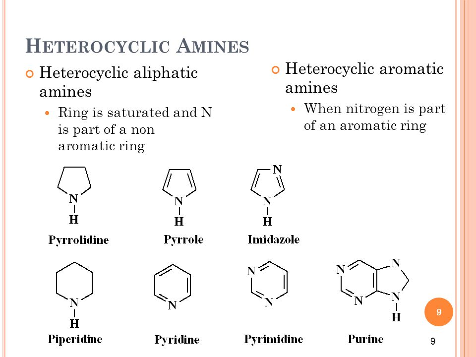 10 N AMING A MINES Amines may be named using either common or IUPAC rules For common names, list the alkyl groups attached to the N in ABC order and use the suffix –amine, which is written as one word Prefixes di- and tri- are used if identical groups are present 10