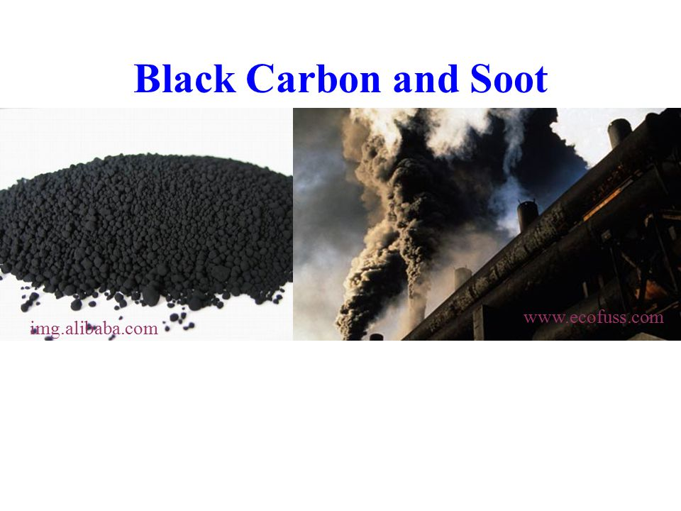 Black Carbon and Soot img.alibaba.com www.ecofuss.com