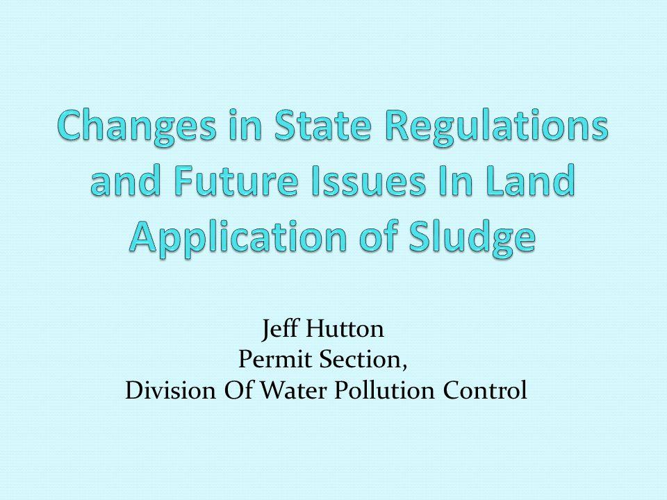 Contact People Jeff Hutton/IEPA 217-782-0610 State Land Application Permits John Colletti/USEPA 312-886-6106 Federal Land Application Permits