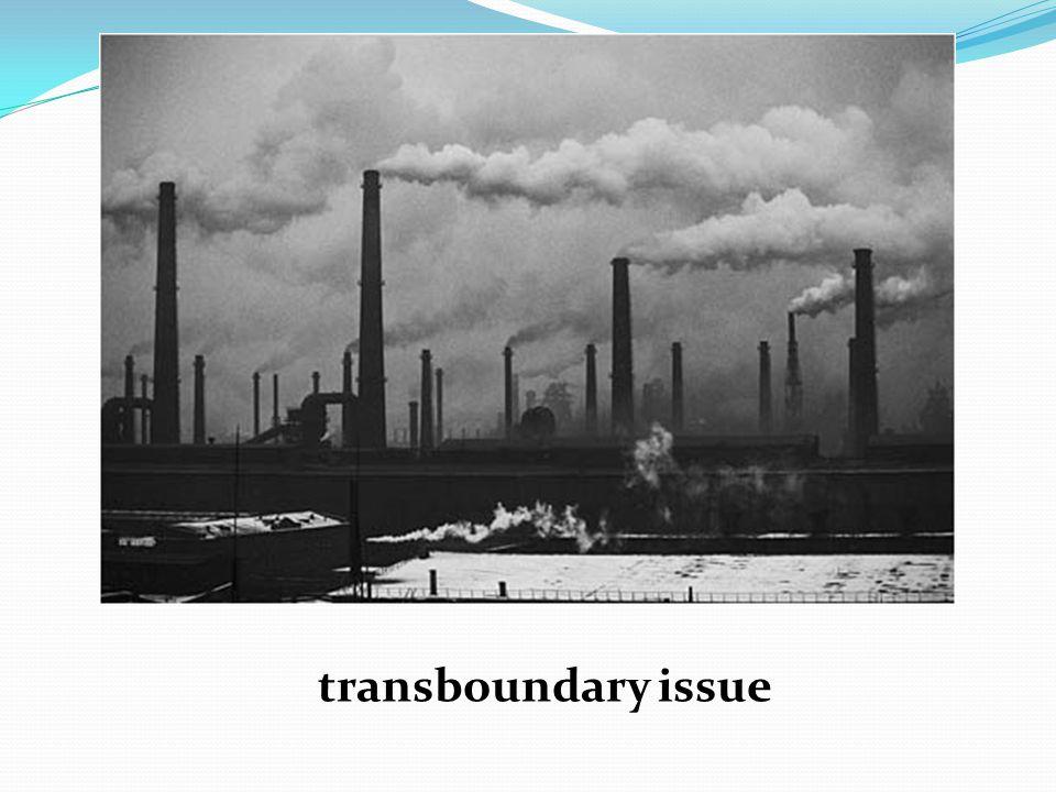 transboundary issue
