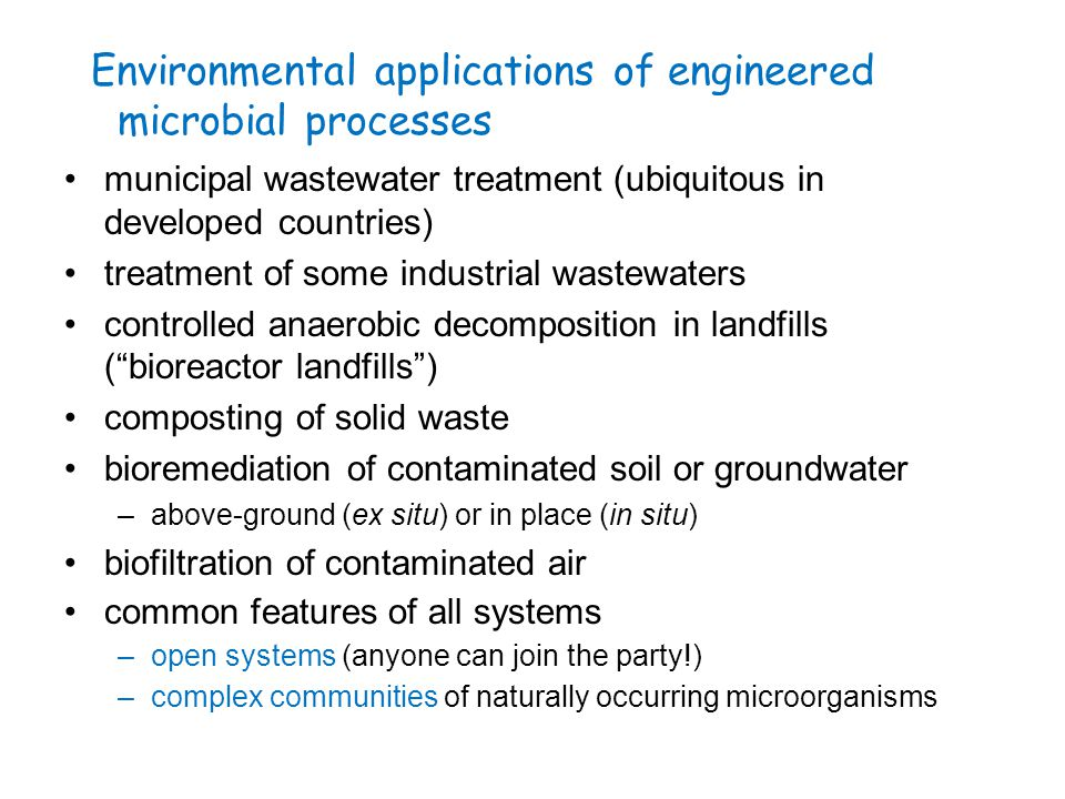 Municipal wastewater treatment: biological processes biological treatment raw wastewater screening grit removal primary sedimentation disinfection discharge (advanced treatment) primary sludge excess biomass nitrification nitrogen removal phosphorus removal nutrient removal odor VOCs VOCs anaerobic digesters