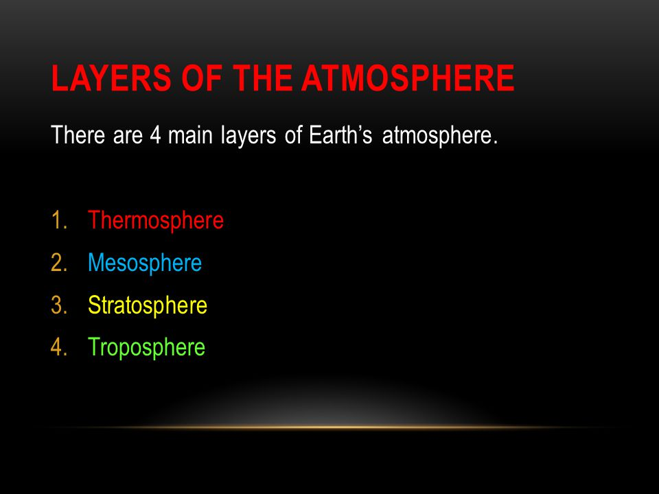 THERMOSPHERE The thermosphere is the fourth and highest layer of our atmosphere.