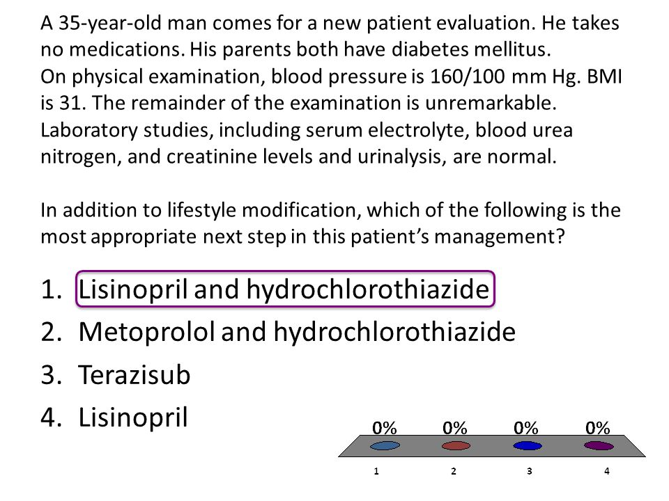 A 35-year-old man comes for a new patient evaluation.
