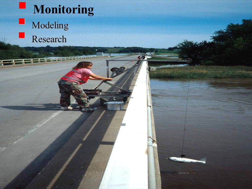  Monitoring  Modeling  Research