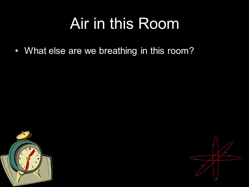 Air in this Room What else are we breathing in this room?