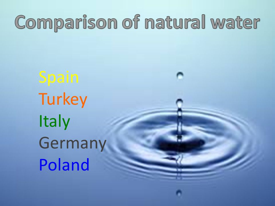 Water supply for the population all over the world is the main problem of this century.