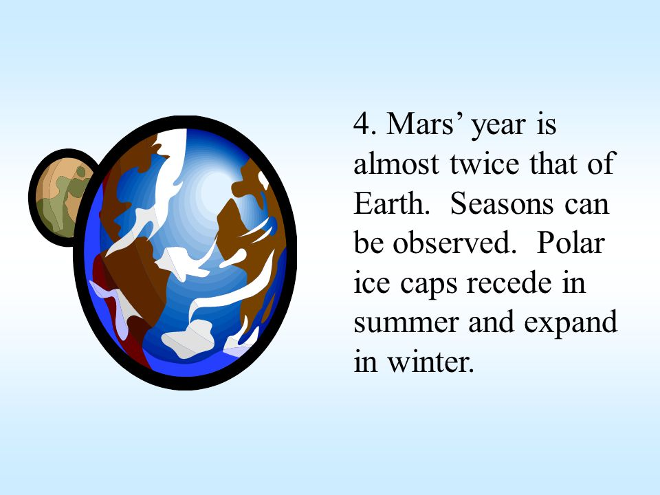 Confirmed long-debated theories that Mars used to be warmer and more Earth-like than it is today.