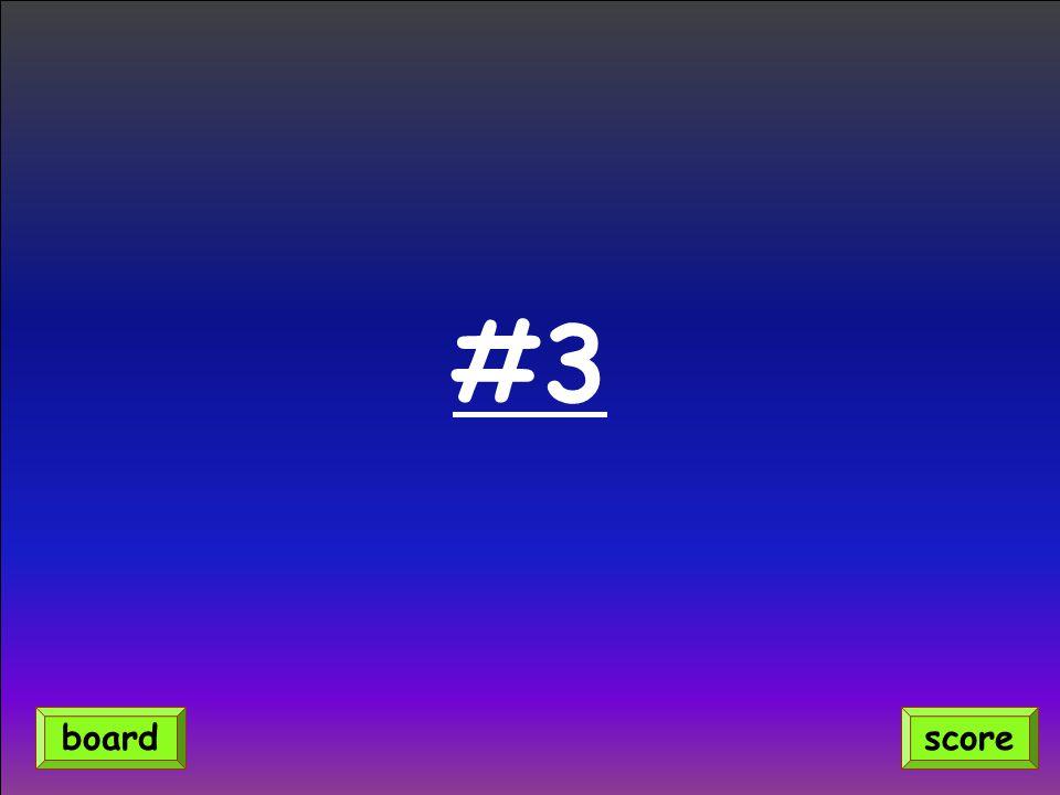 #3 scoreboard