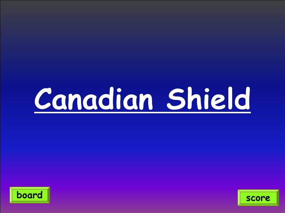 What oceans border Canada?