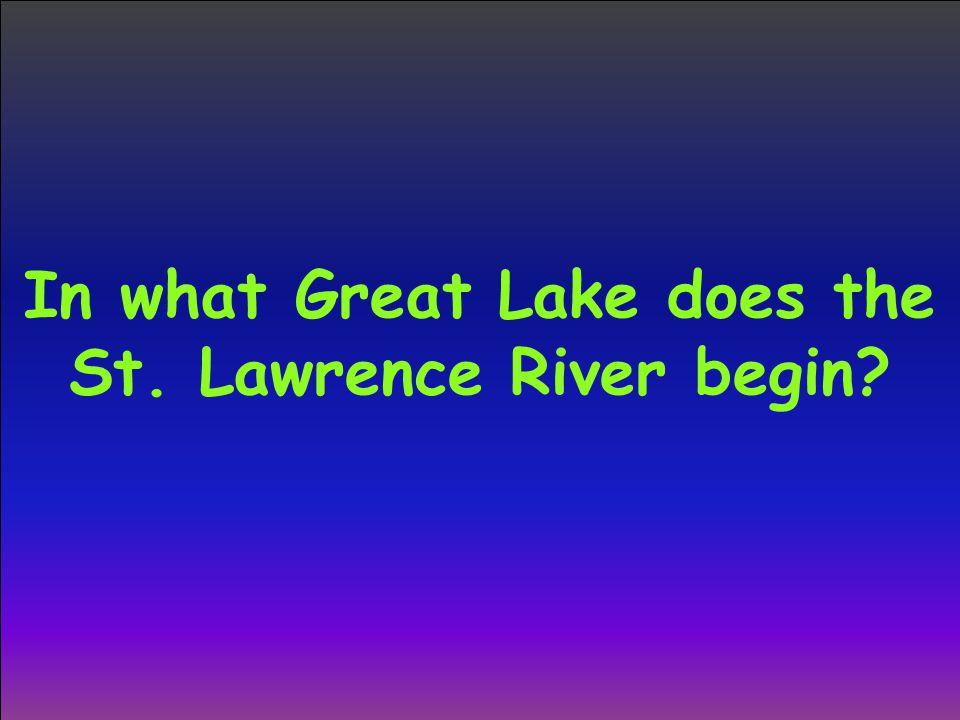 Lake Ontario score board