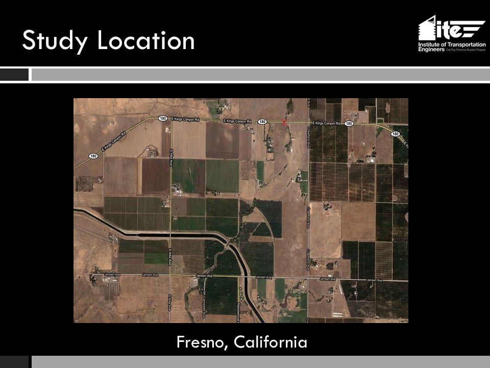 Study Location Fresno, California