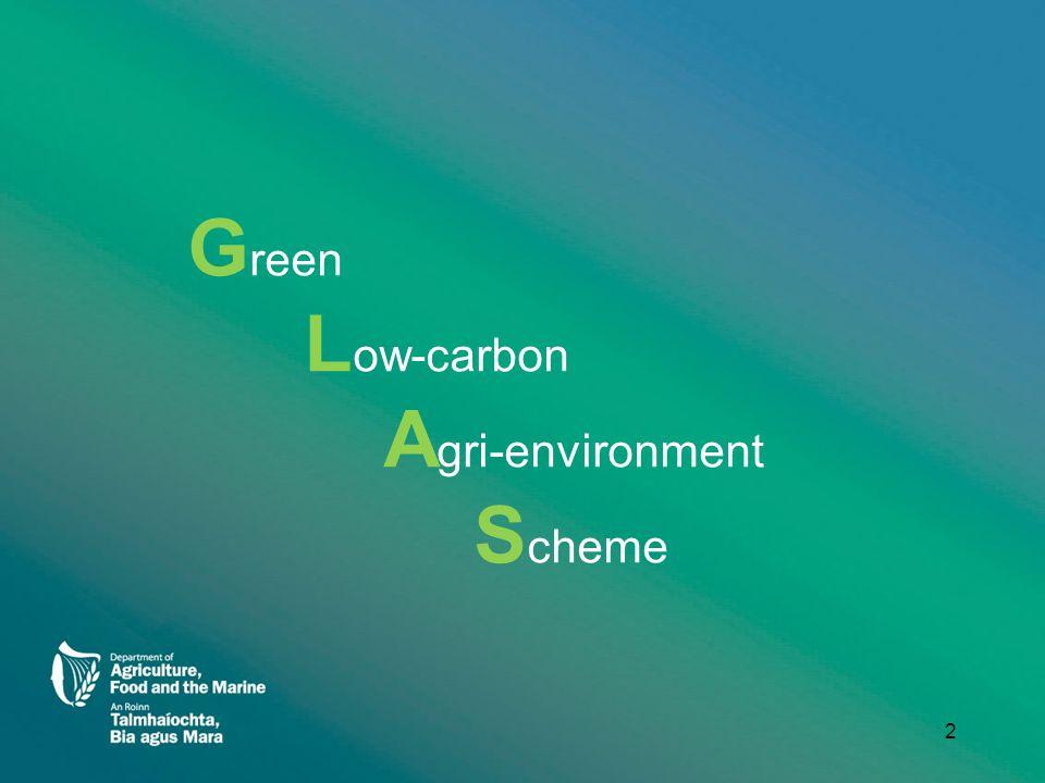 G reen L ow-carbon A gri-environment S cheme 2