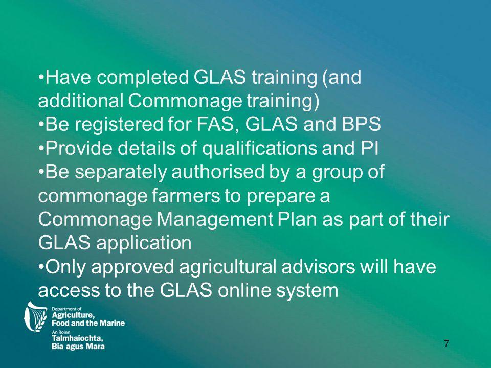 I am a farmer, how do I apply for GLAS? 8