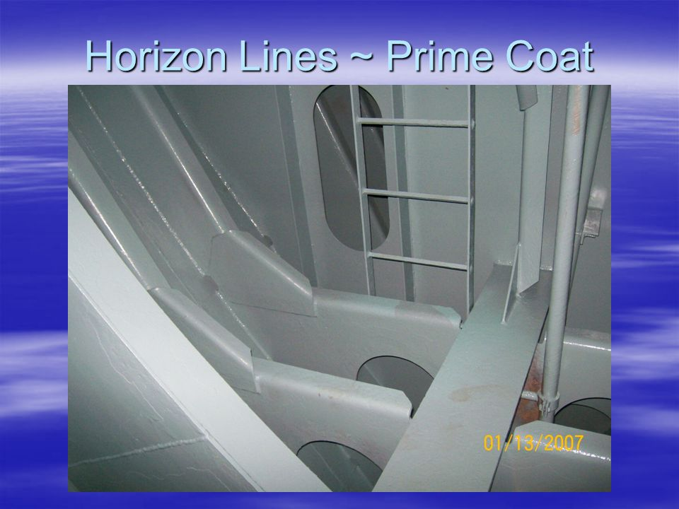 Horizon Lines ~ Prime Coat
