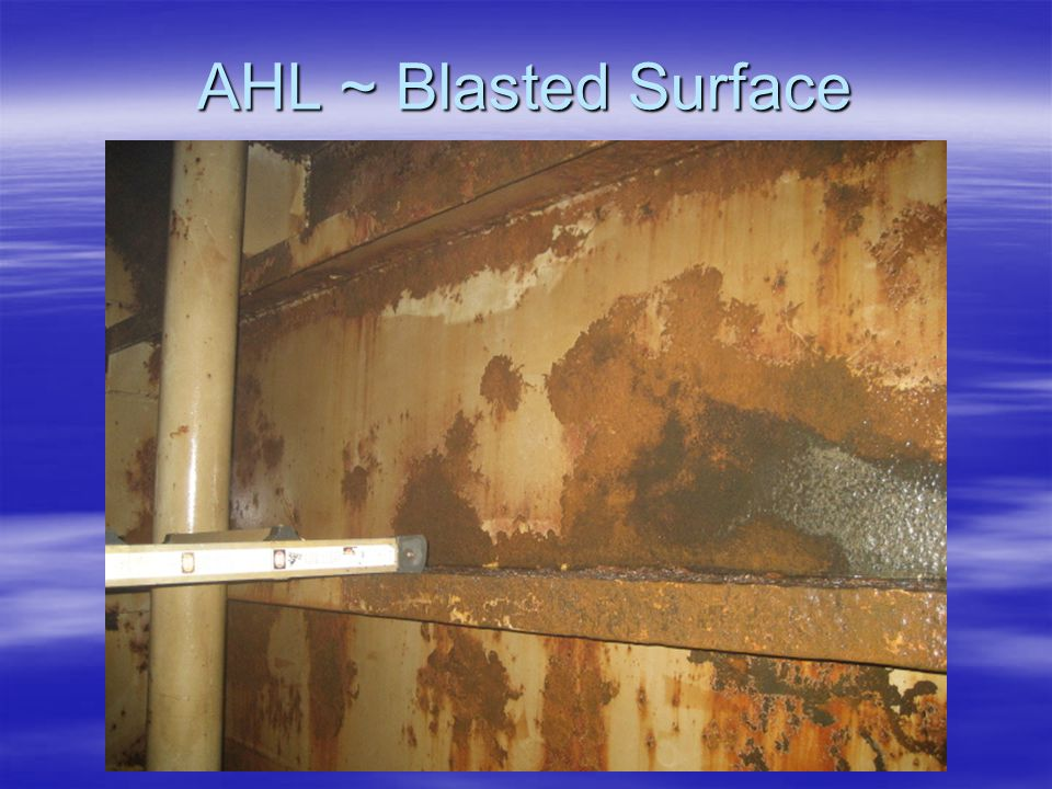 AHL ~ Blasted Surface