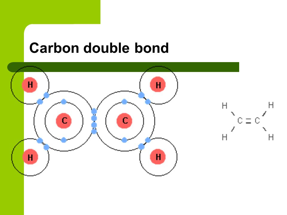 Carbon double bond