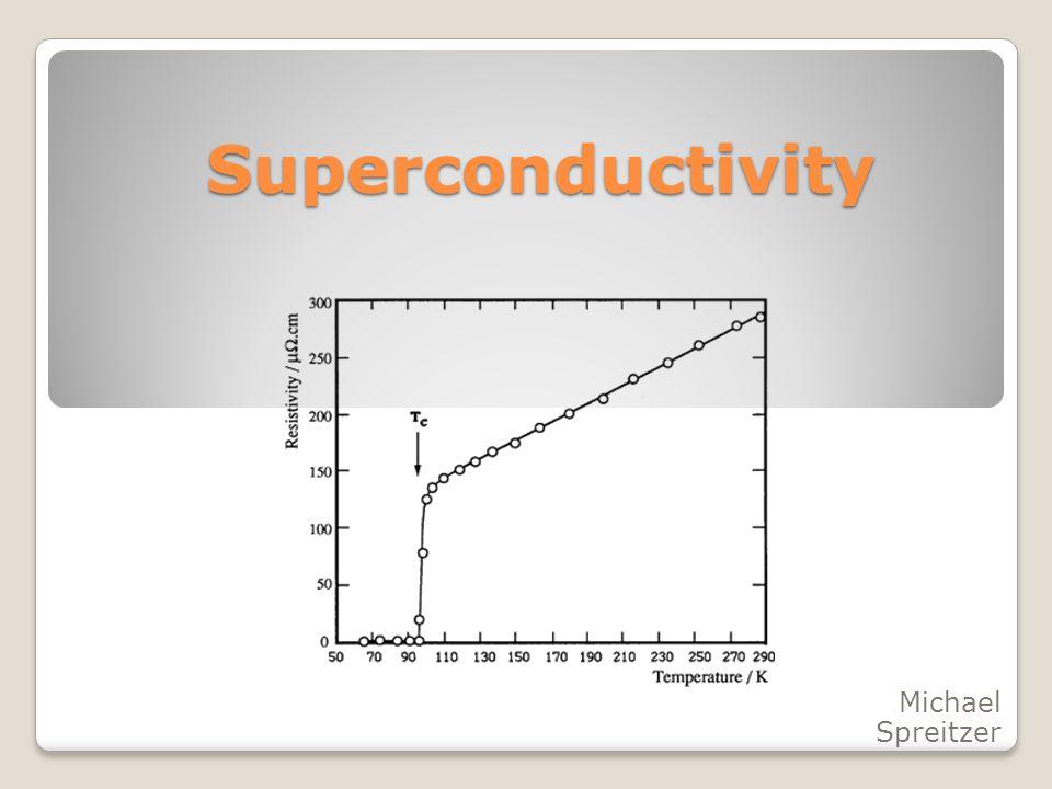 Superconductivity Michael Spreitzer