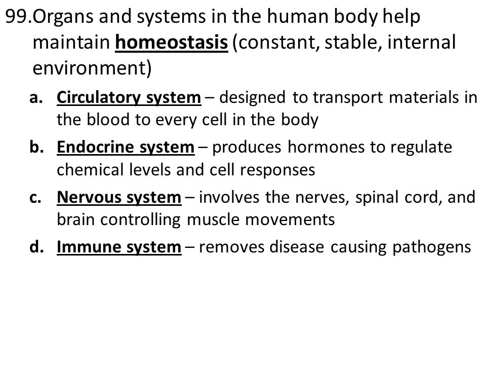 108.The nervous system and endocrine system allow cells within multicellular organisms to communicate and coordinate their actions a.Nervous System communication is fast and short lasting i.Electrical impulses travel down neurons