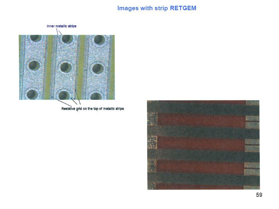59 Images with strip RETGEM