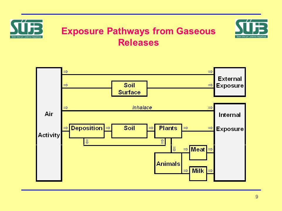 9 Exposure Pathways from Gaseous Releases