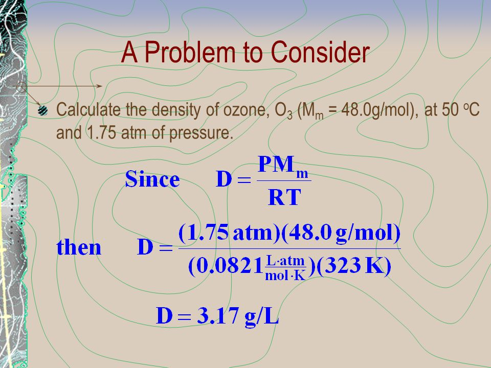 Real Gases Also, in the van der Waals equation, where n 2 a/V 2 represents the effect on pressure to intermolecular attractions or repulsions.