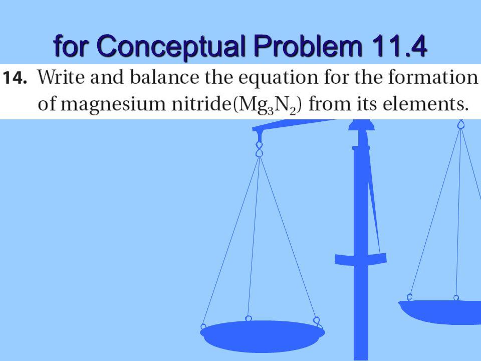 for Conceptual Problem 11.4