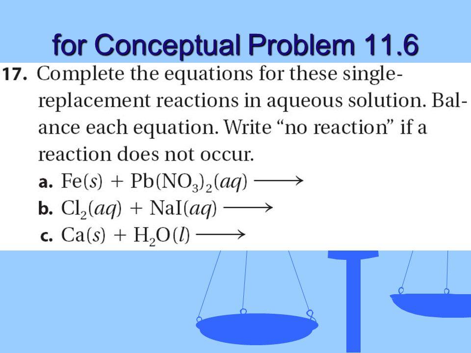 for Conceptual Problem 11.6