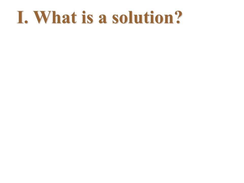 II.Is it soluble.