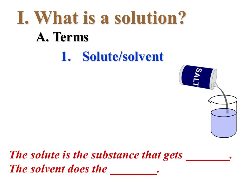 A solution with.IV. Concentration 1. Concentrated 2.