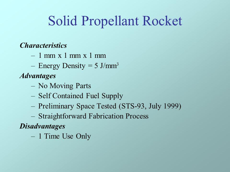Solid Propellant Rocket
