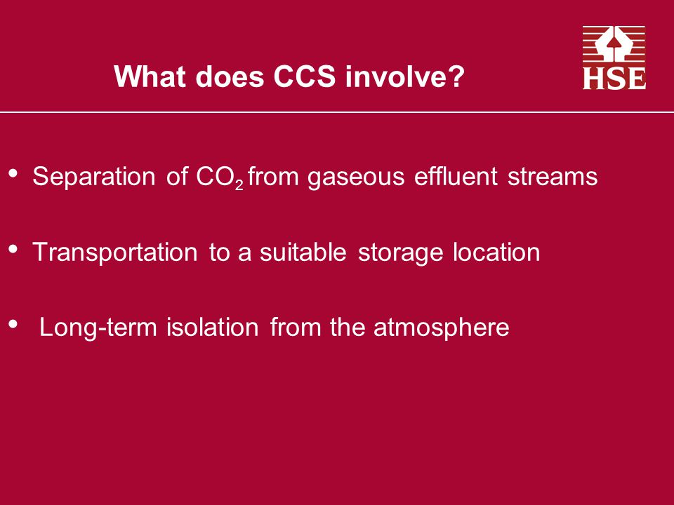 Health and safety risks Gaseous CO 2 Supercritical CO 2 –Not a solid, a liquid or a gas –low viscosity, highly solubilising and invasive