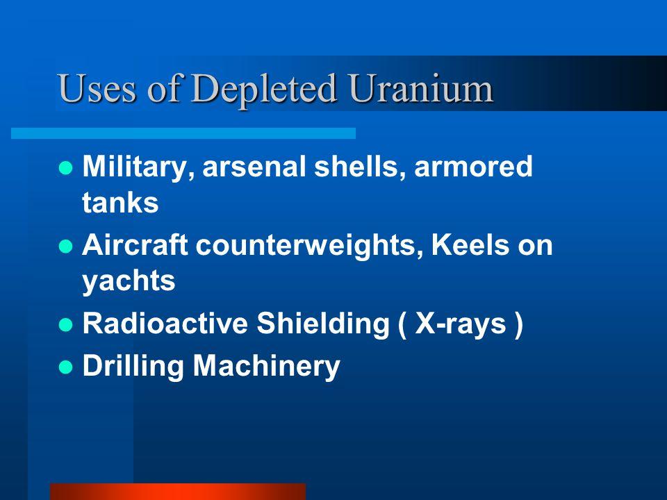 How DU is made DU is a product of the uranium enrichment process.