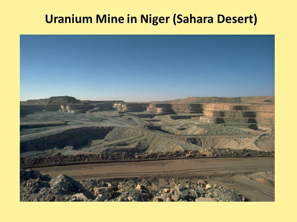 Uranium Mine in Niger (Sahara Desert)