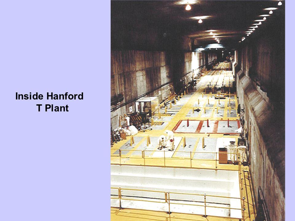 Inside Hanford T Plant