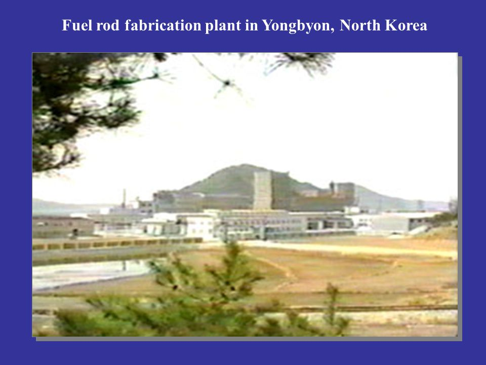 Fuel rod fabrication plant in Yongbyon, North Korea
