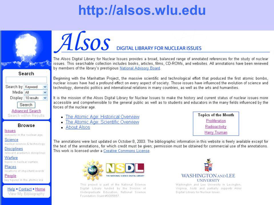 http://alsos.wlu.edu