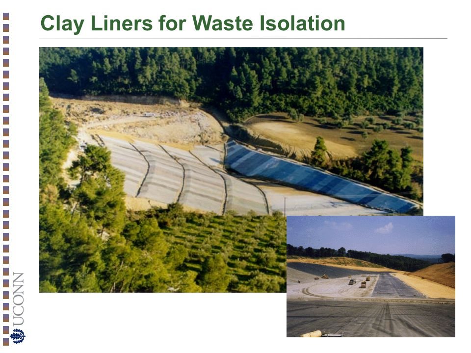 Clay Liners for Waste Isolation