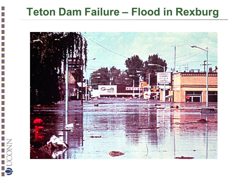 Teton Dam Failure – Flood in Rexburg