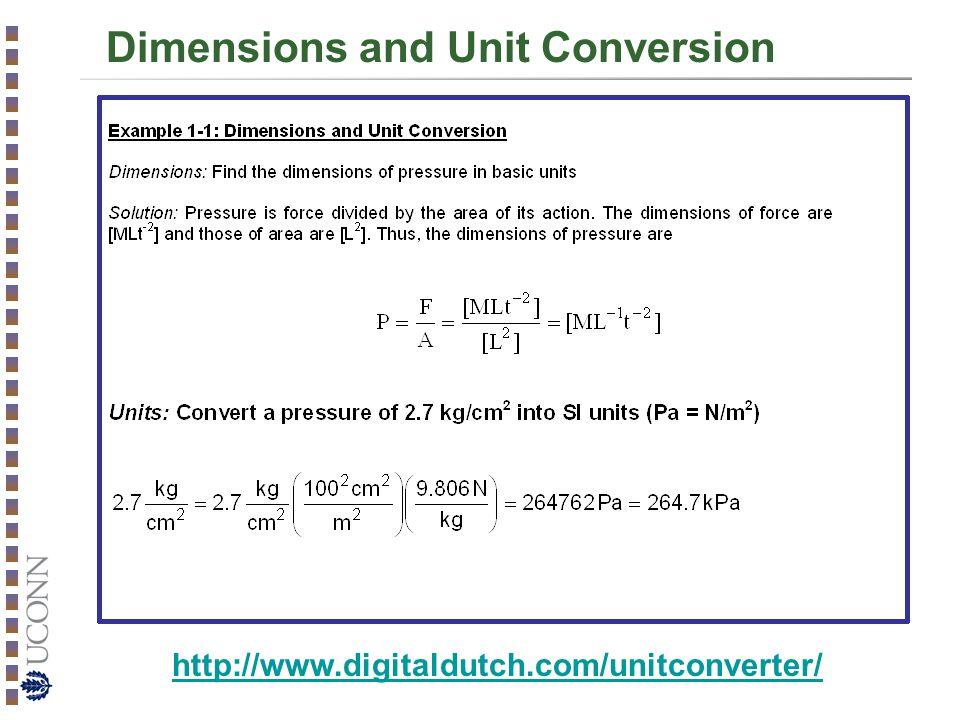 Dimensions and Unit Conversion http://www.digitaldutch.com/unitconverter/
