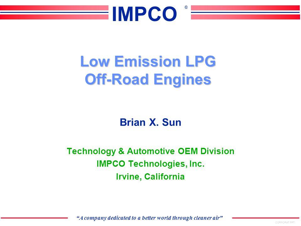 Intermediate Pressure Regulator Temperature Sensor Low Pressure Lockoff Typical Fuel Pressure & Fuel Management Subsystem Fuel Rails LPG Injectors Pressure Sensor Fuel Rail Hose Assembly