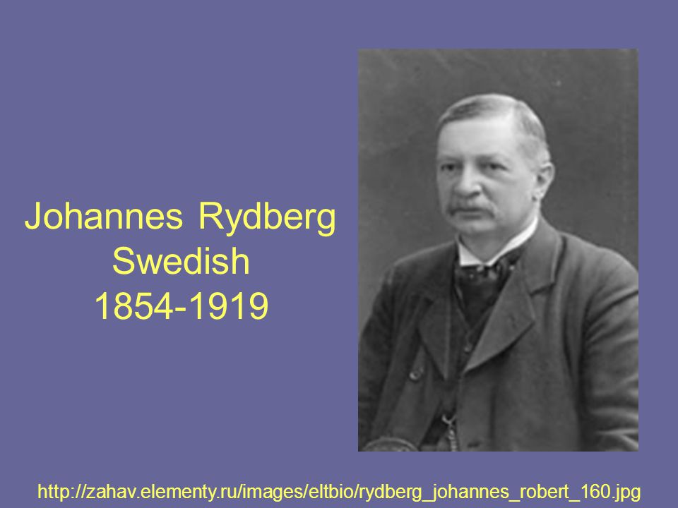 Johannes Rydberg Swedish 1854-1919 http://zahav.elementy.ru/images/eltbio/rydberg_johannes_robert_160.jpg