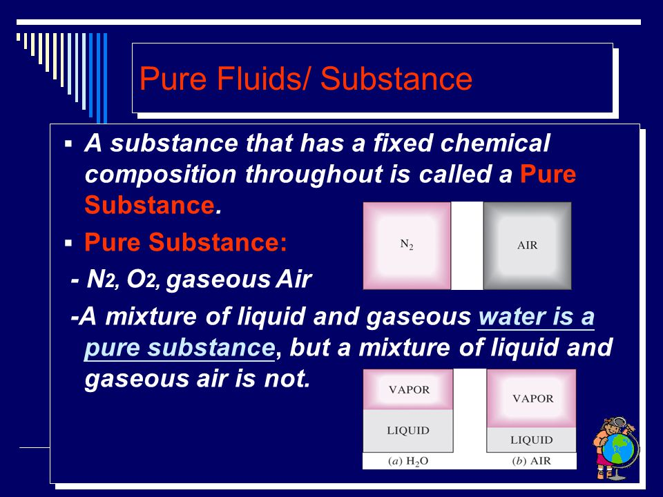 PHASES OF A PURE SUBSTANCE The molecules in a SOLID are kept at their positions by the large springlike inter-molecular forces.