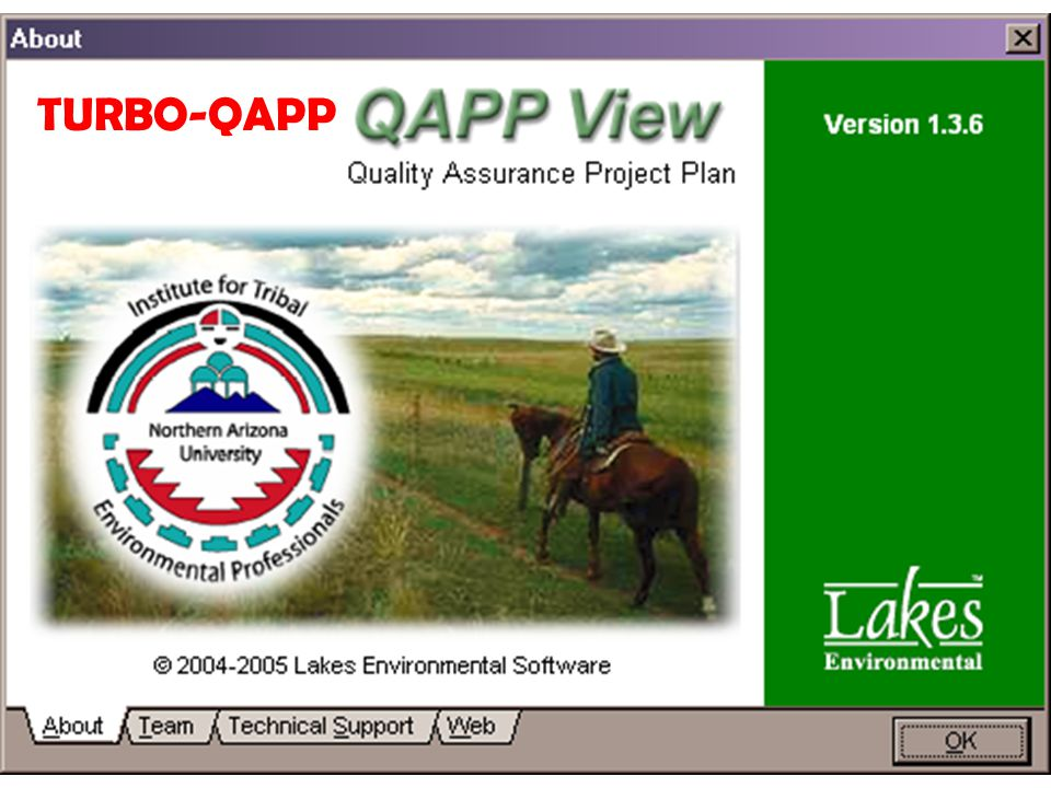 QA Strategy Workgroup Ambient Air Quality System Training 8 TURBO-QAPP
