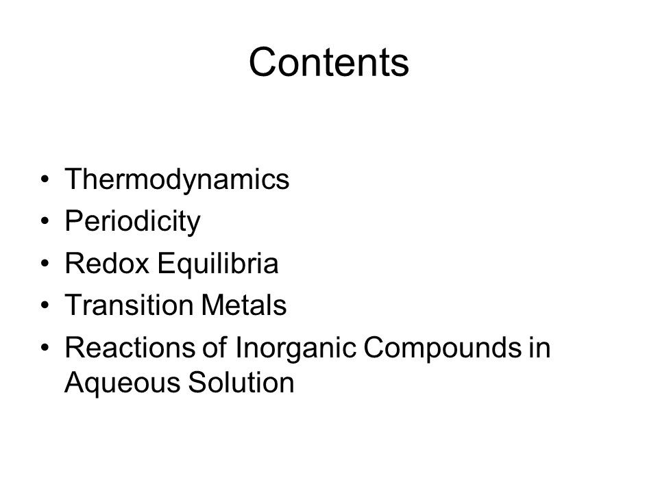 Thermodynamics Enthalpy Change Free Energy and Entropy Change