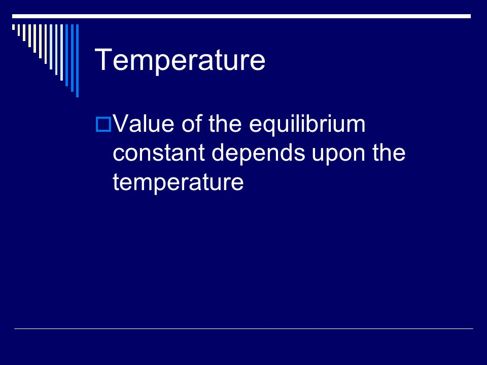 Temperature  Is the rxn exothermic or endothermic.