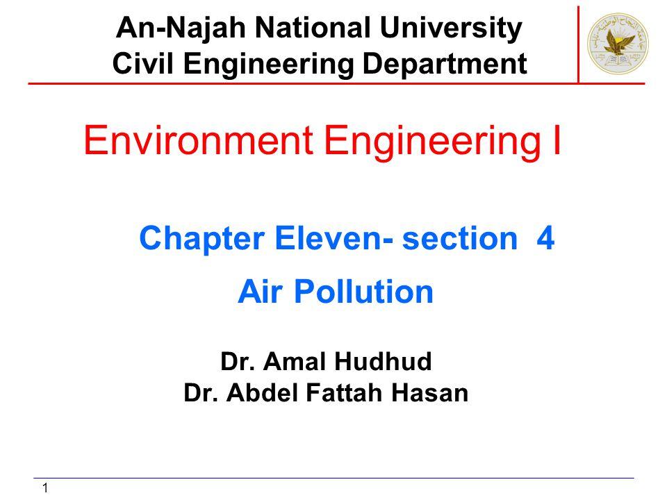 Air pollution control of mobile sources 1.Gasoline engine 2.Diesel engine 3.jet engine